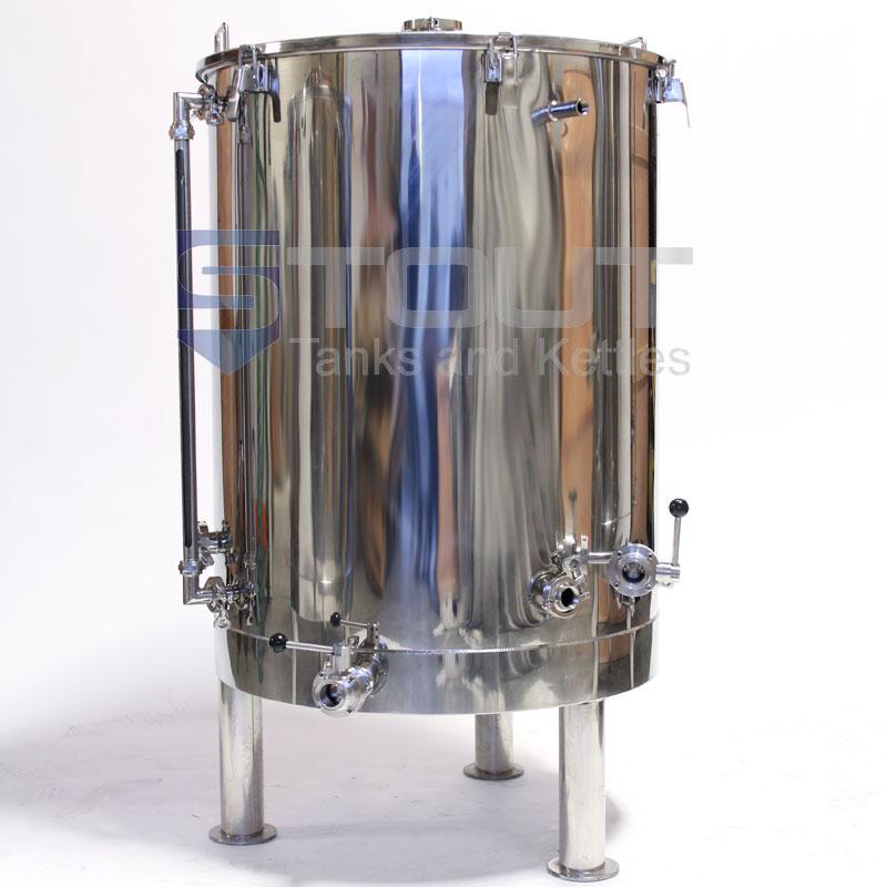 120 Gallon Hot Liquor Tank used in Pro Breweries