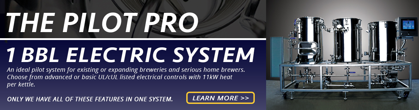 Buy a 1 BBL Brewing System | Stout Tanks and Kettles brewing