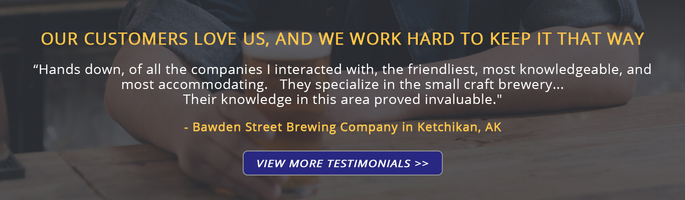 Commercial brewers and home brewers love Stout Tanks and Kettles brewing equipment