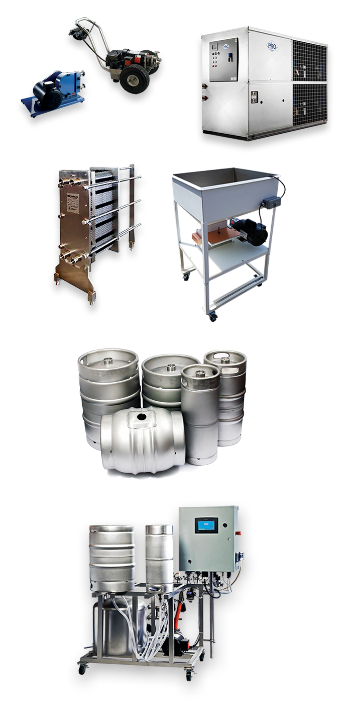 buy accessories for your turnkey brewing system from Stout Tanks and Kettles