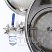 15 Gallon Mash Tun with Thermowell, Thermometer and Recirculating Fitting