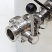 3 BBL Hot Liquor Tank - with HERMS Coil - view of valve