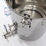 20 Gallon Mash Tun with Thermowell, Thermometer, Recirculating Fitting and Bottom Outlet