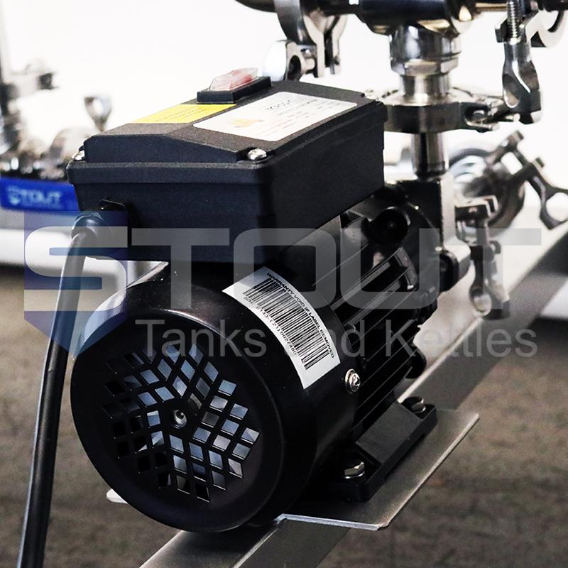 1 bbl brewing system motor