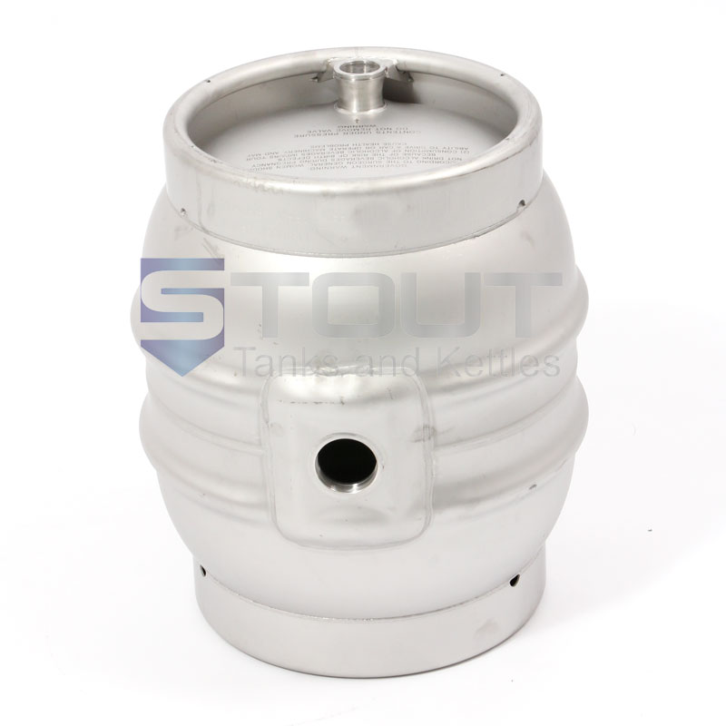 10 Gallon Stainless Steel Firkins Keg