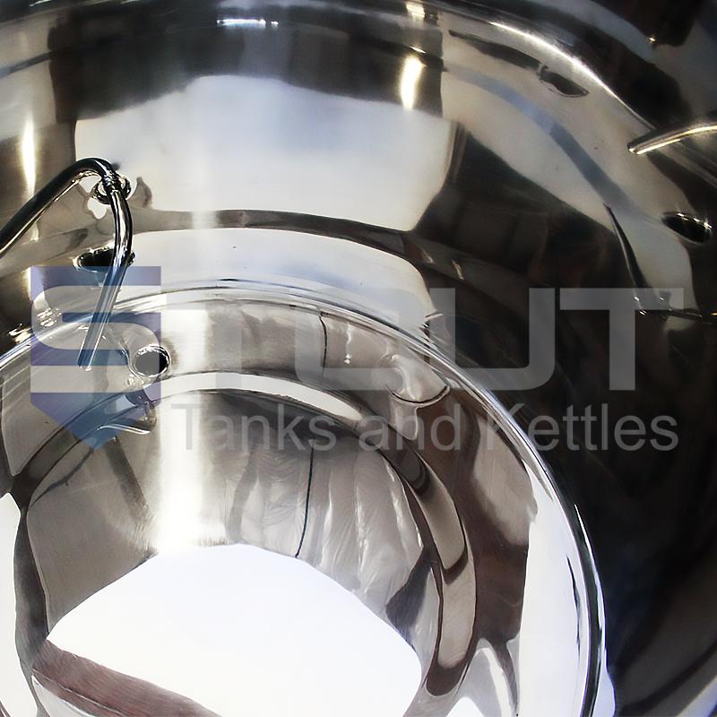 55 gallon kombucha brewing equipment - inside view 2