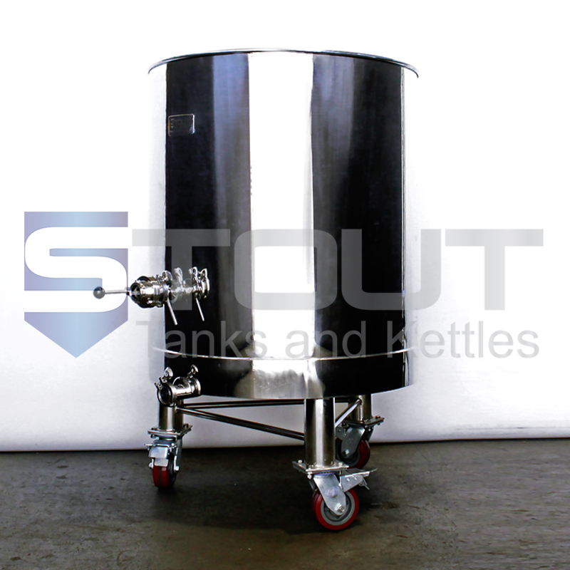 55 gallon kombucha brewing equipment - side