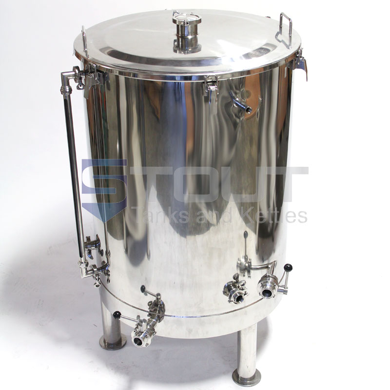 120 Gallonhot Liquor Tank With Thermowell Sight Glass