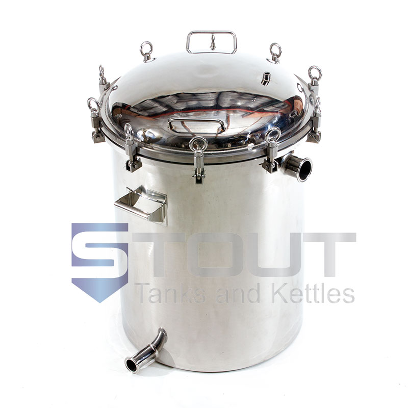 30 Gallon Hop Back With Pressure Lid For Sale