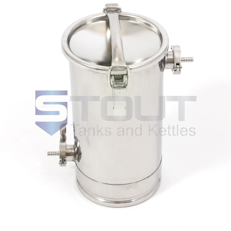 2 7 Gallon Hop Back With Clamp Down Lid For Sale