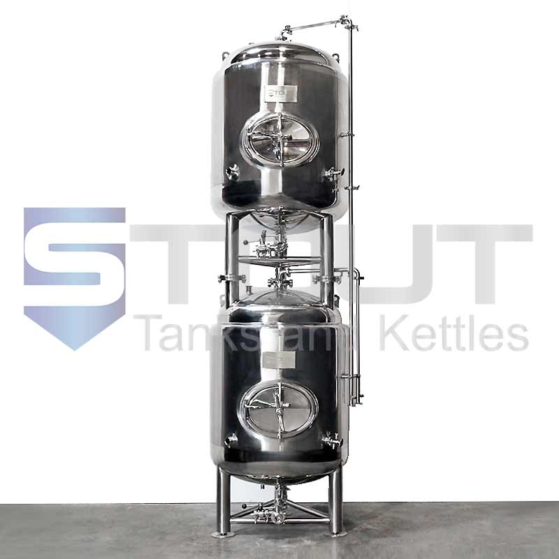 2 bbl stackable brite tanks from Stout Tanks and Kettles