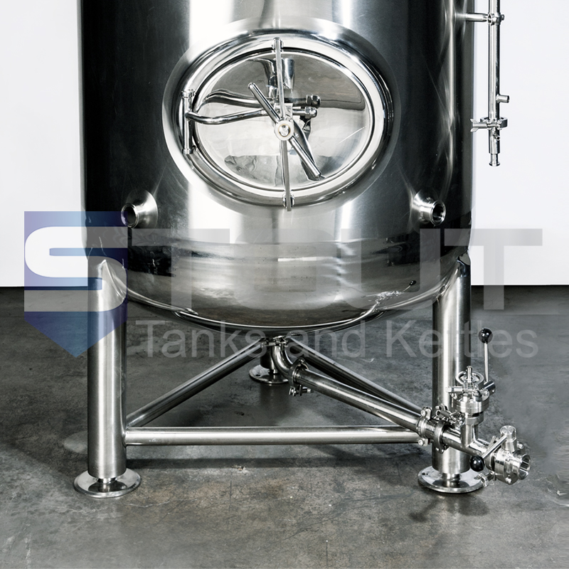 front view of our 5 BBL Brite Tank
