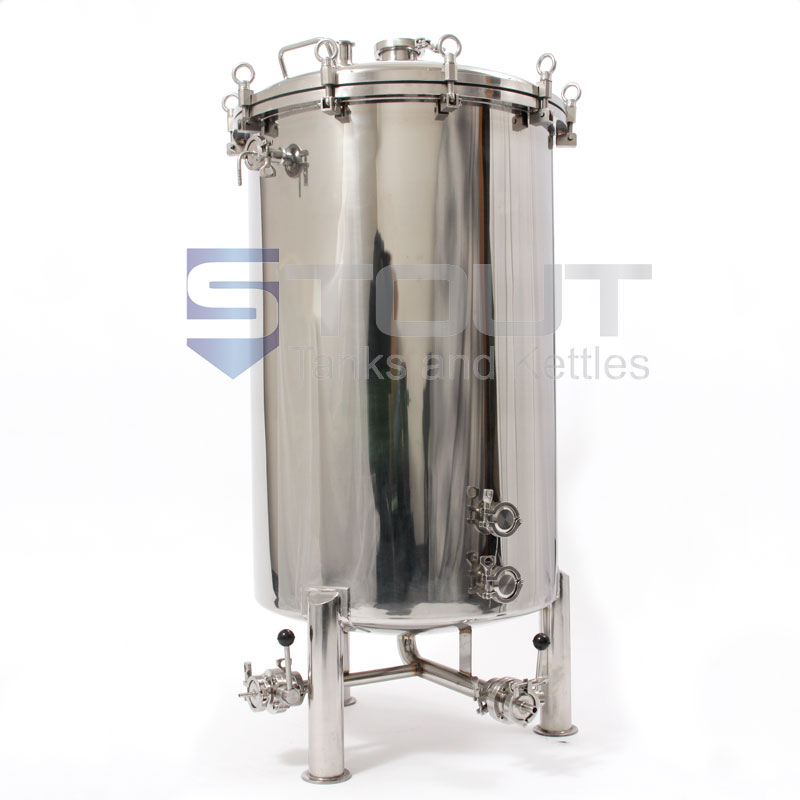 68 Gallon Brite Beer Tank with Butterfly Valves