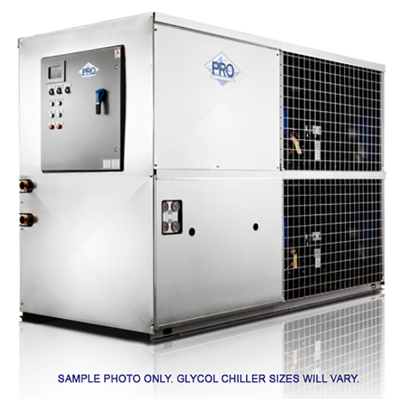 Glycol chiller for brewery