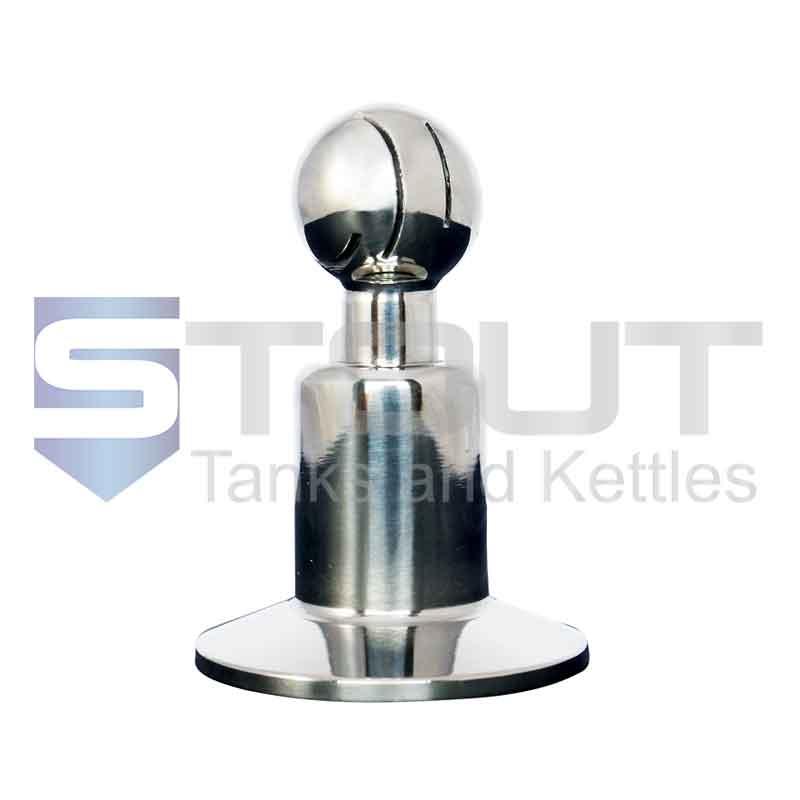 "Rotating CIP Spray Ball (1"" Tri Clamp, 1"" Ball, 304SS)"
