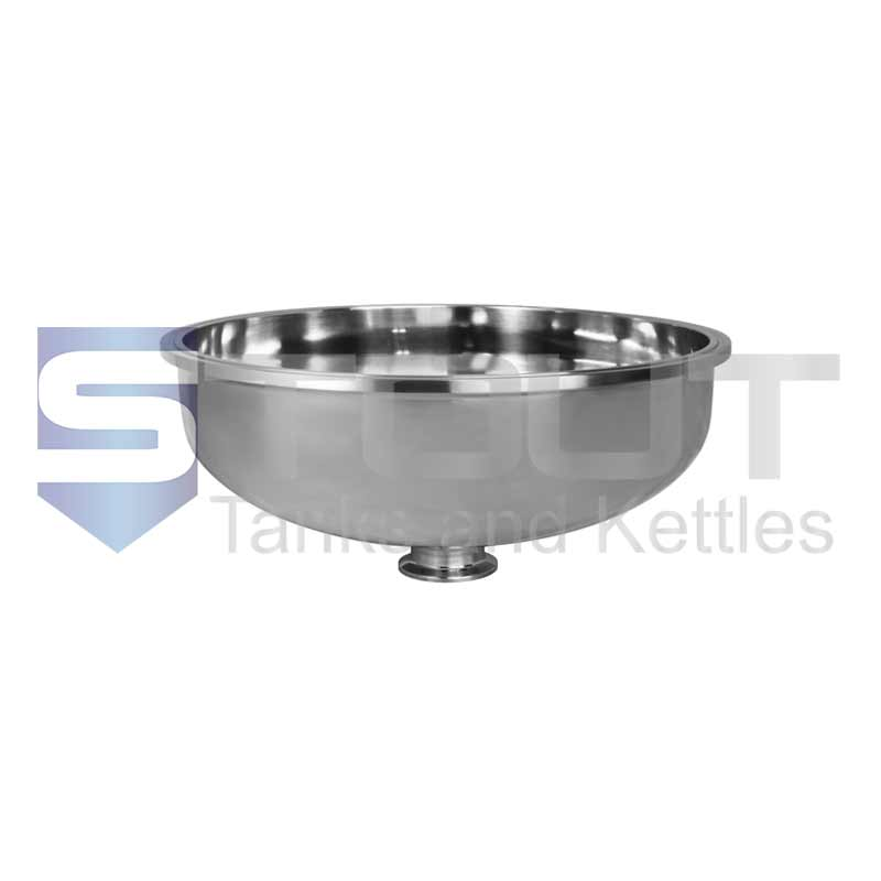 "Bowl Reducer (10"" Tri Clamp x 1.5"", 304SS)"