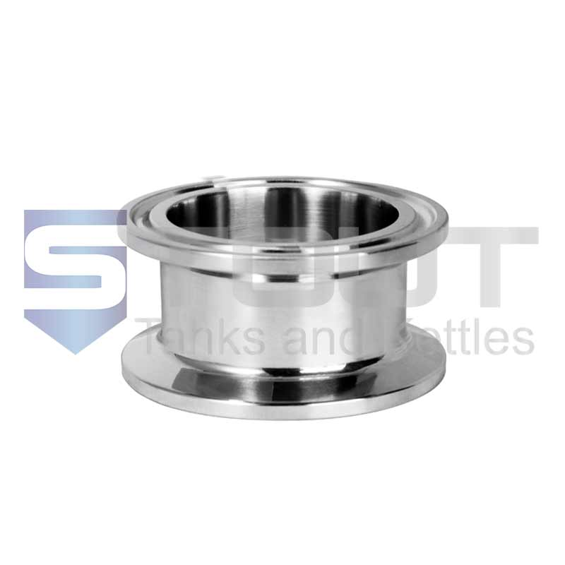 "Sanitary Spool (1.5"" Tri Clamp x 2"", 304SS)"