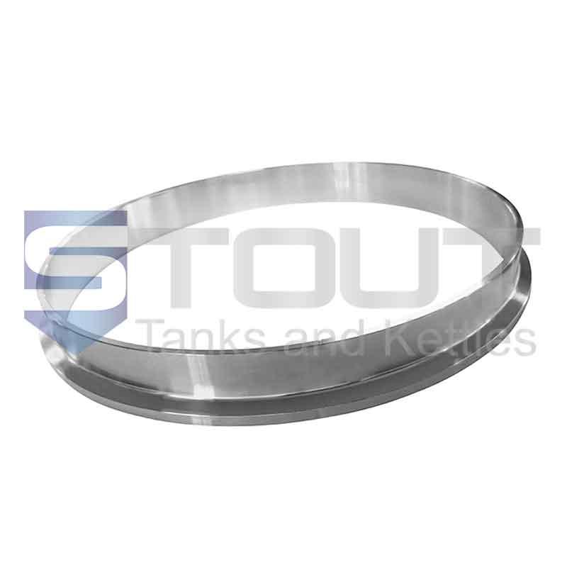 Tri Clamp Ferrule (Weld 10 in x 28.6 mm, 304SS)