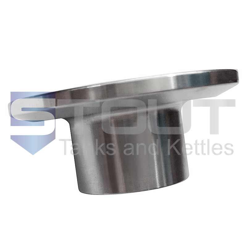 Tri Clamp Ferrule (Weld 1 in x 21.5mm, 304SS)