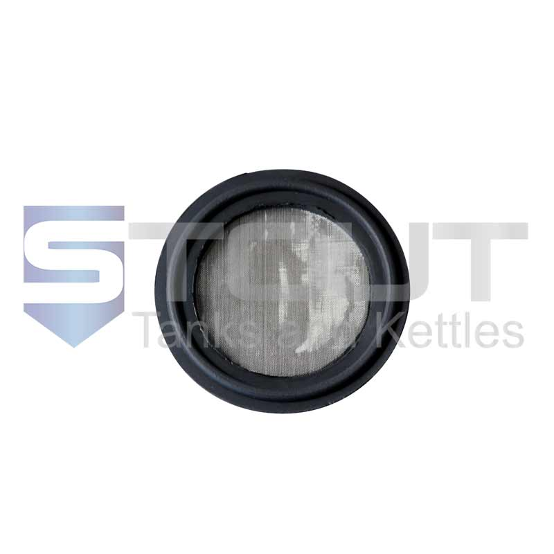 "Viton Screen Gasket (1.5"" Tri Clamp, 150 mesh, FDA)"