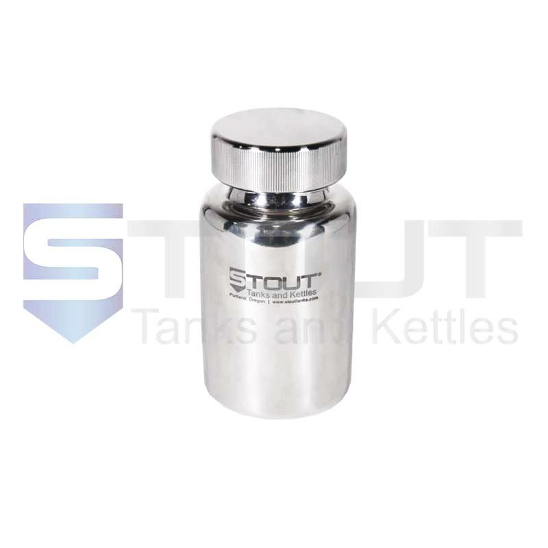 0.5 Liter Pharma Bottle | Screw on Lid (316SS)