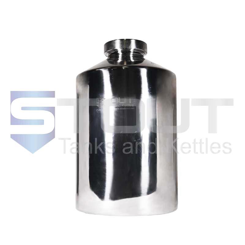 20 Liter Pharma Bottle | Screw on Lid (316SS)