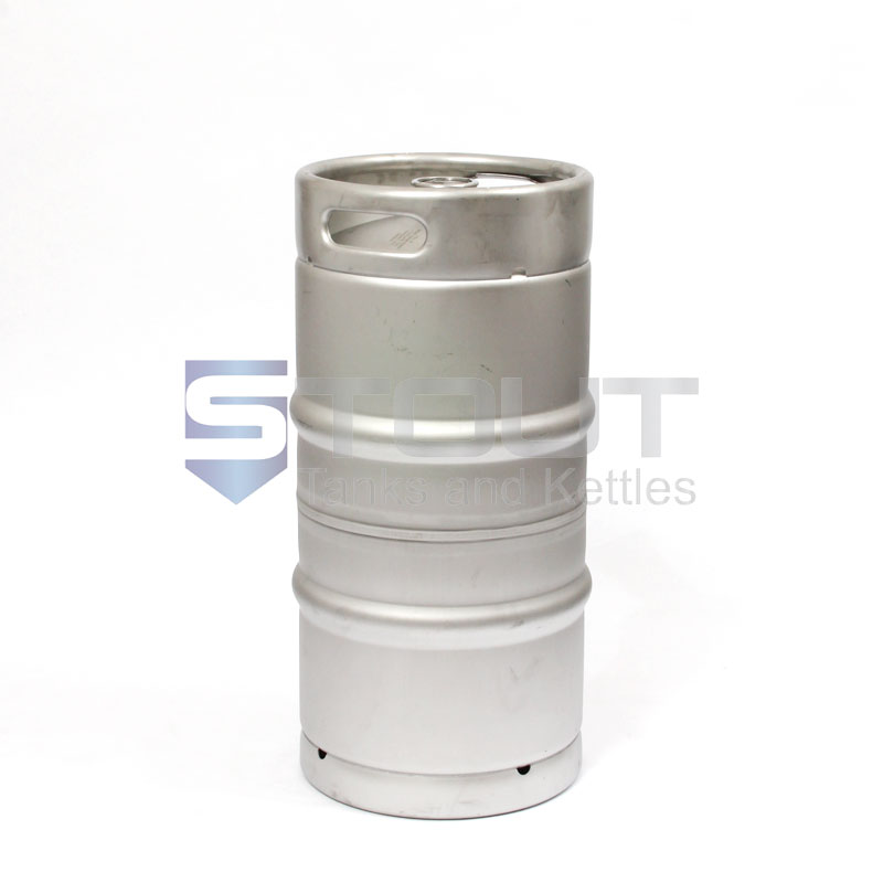 1/4th Barrel Stainless Steel  Keg