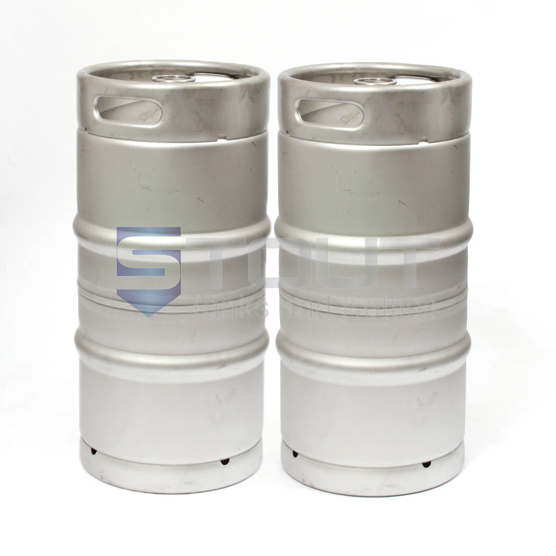 One quarter Barrel Stainless Steel Keg (two)