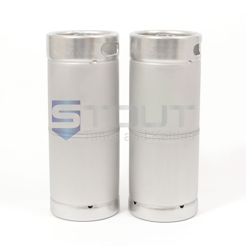 One Sixth Barrel Stainless Steel Kegs Box Of Two From