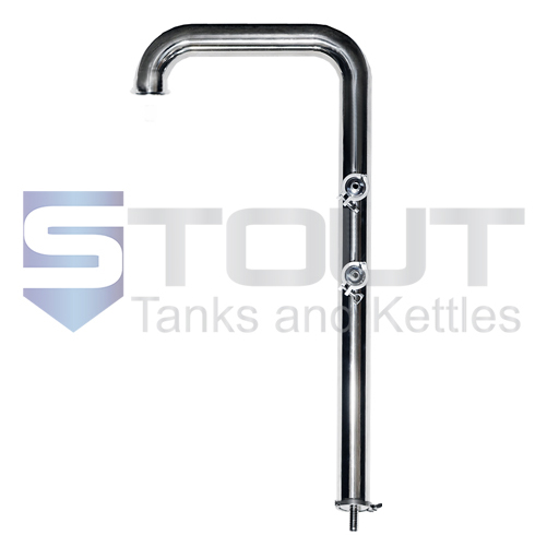 Condenser | 1 bbl Brew Kettles - Hard Pipe System