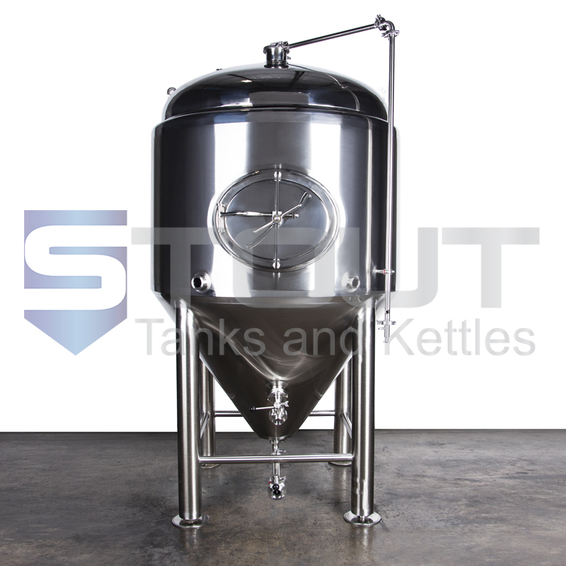 TOP SELLER!! - 10 BBL Conical Fermenter / Unitank (Short, Jacketed) - PERFECT FOR LOW CEILINGS