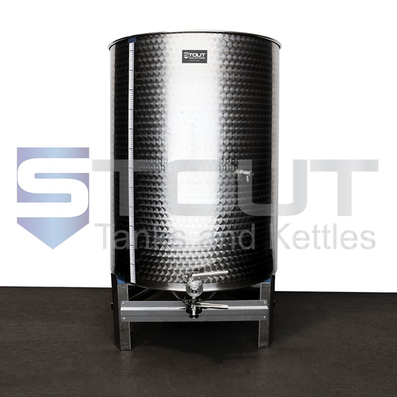 1000 Liter (264 Gallon) - Variable Capacity Tank (Round Bottom)