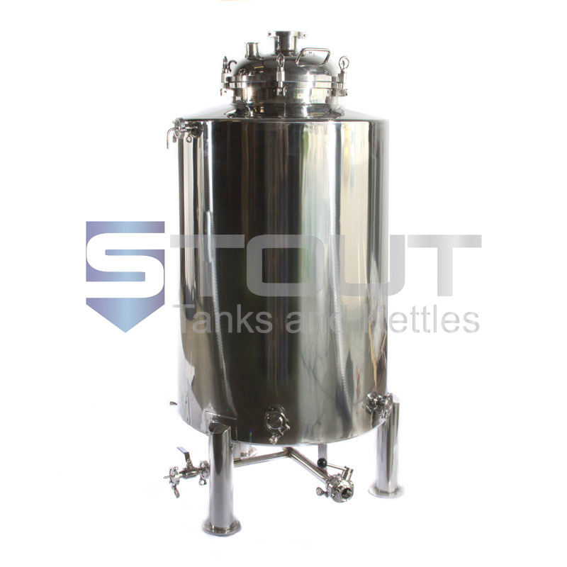 170 Gallon Brite Beer Tank With Butterfly Valves