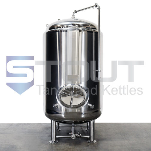 15 BBL Brite Tank (Jacketed)