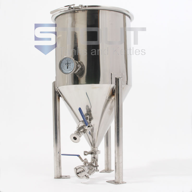 15 Gallon Conical Fermenter (Short-Style on Legs)