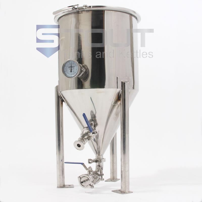 CF15TW-SH (210) 15 Gallon Short-Style Conical Fermenter