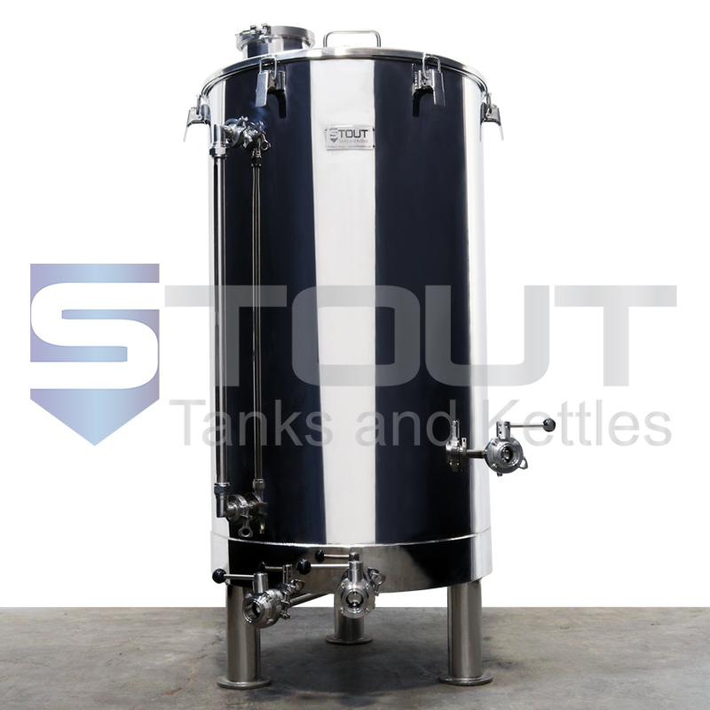 2 BBL Brew Kettle - with 3 Element Ports, 1 Level Sensor Port (Electric)
