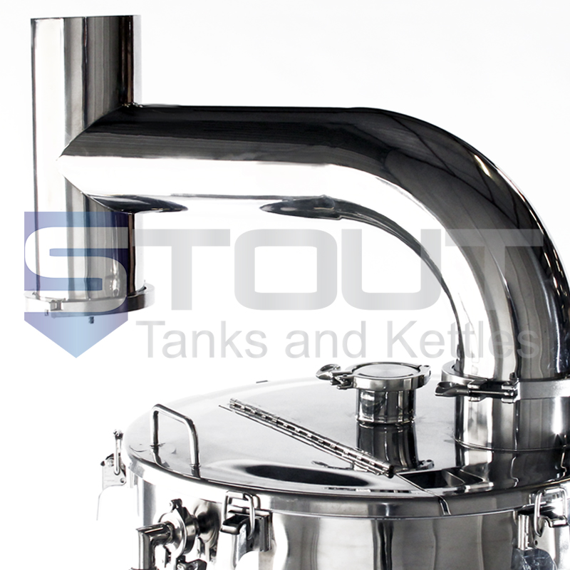 Condensate Stack | for 2-4bbl Brew Kettles - POPULAR ACCESSORY