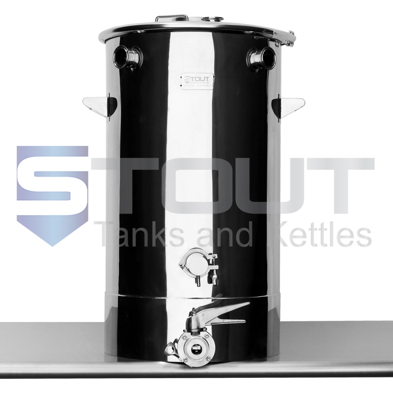 20 Gallon Mash Tun for Low Oxygen brewing