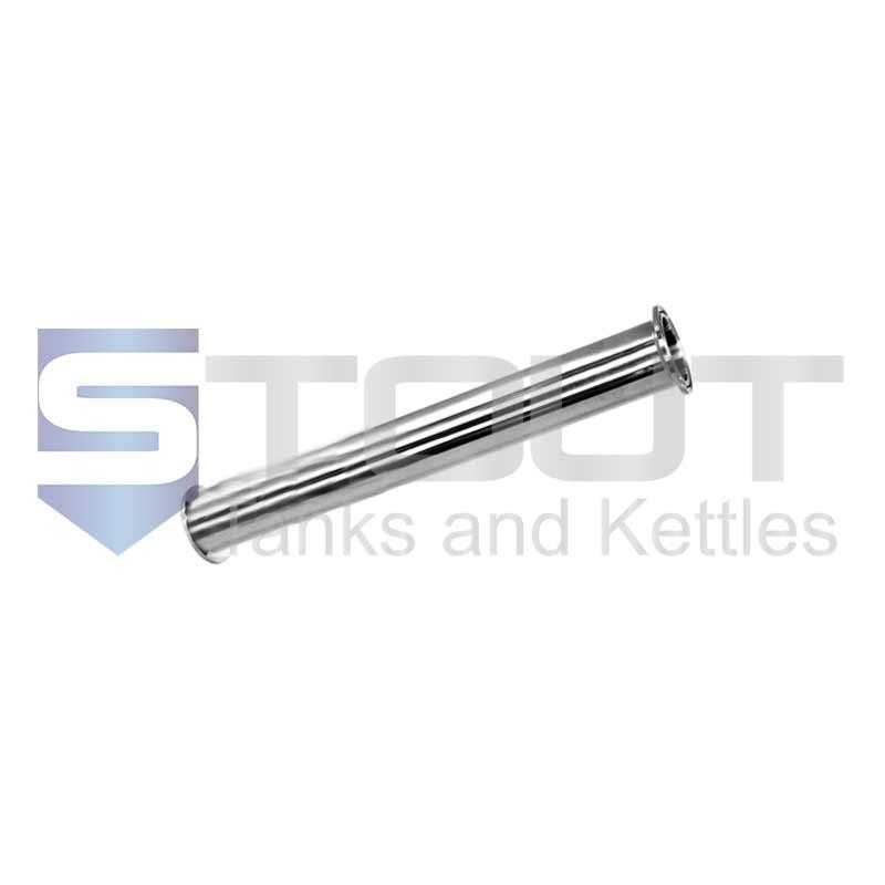 "Sanitary Spool | 2"" Tri Clamp x 12"" Long (304SS)"