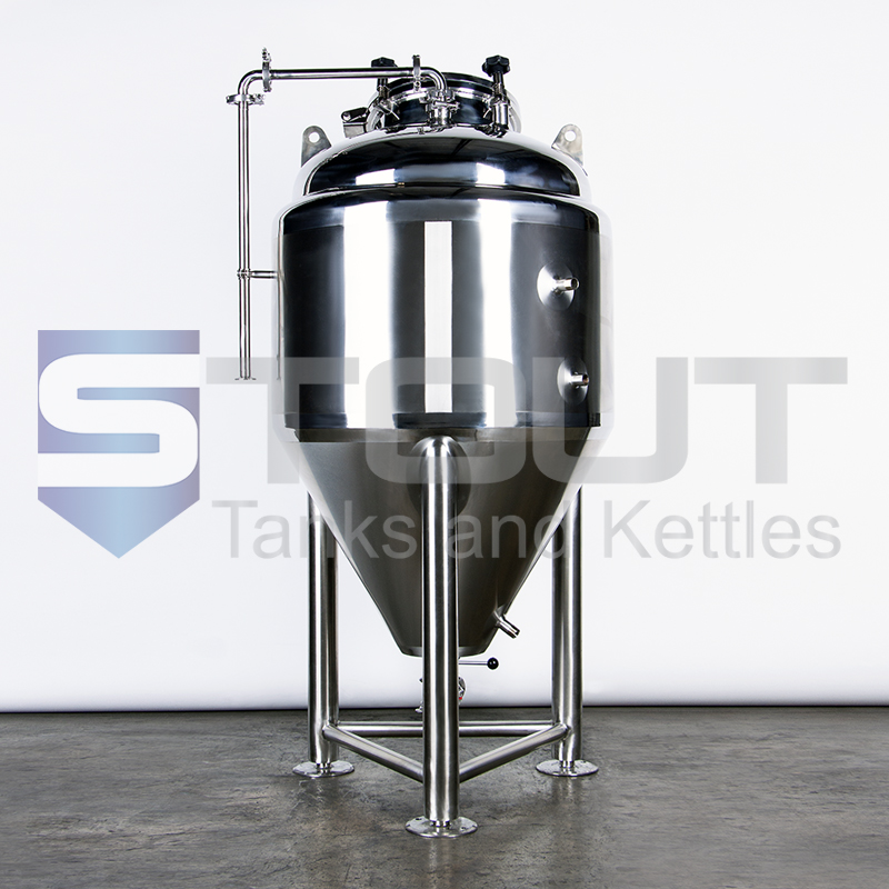 6 BBL Conical Fermenter / Unitank (Jacketed with Top Manway)