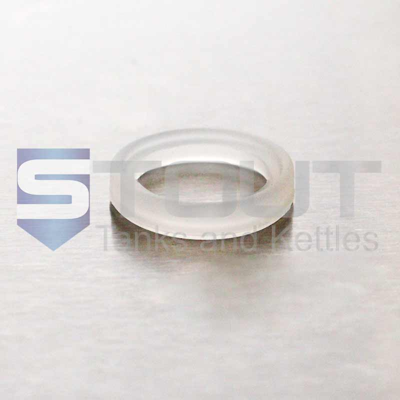 """Silicone Gasket   3/4"""" Tri Clamp"""