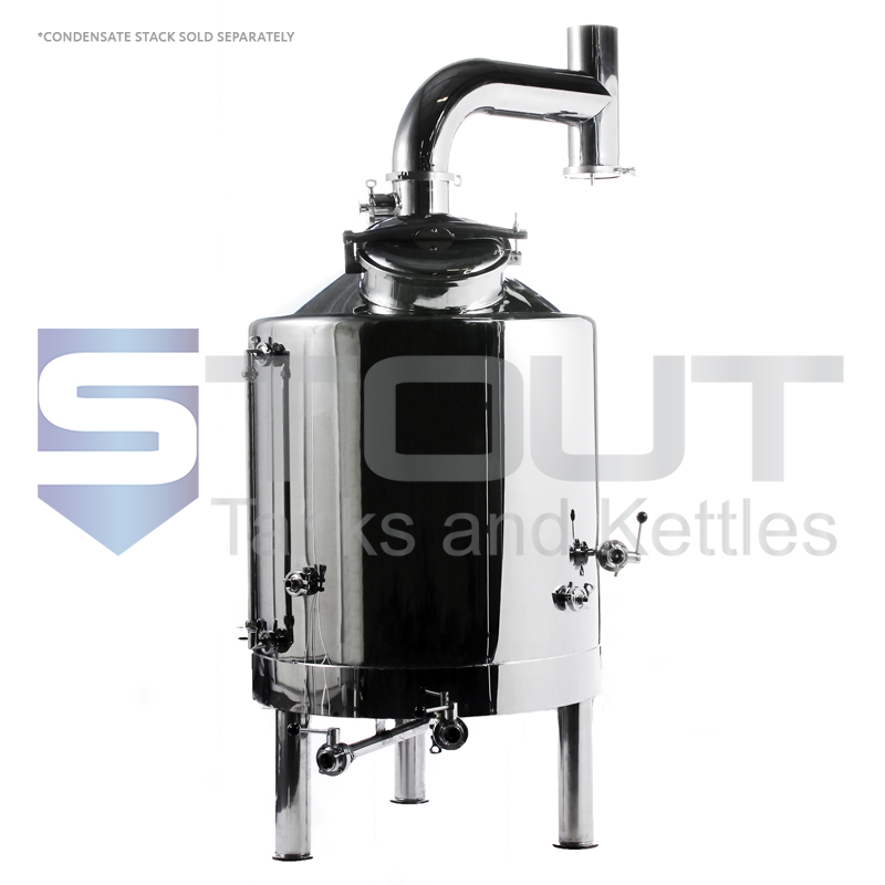3 BBL Brew Kettle - with Dome Top (Electric)