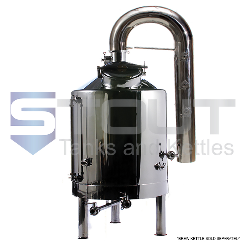Condenser | for 2-4 BBL Dome Top Brew Kettles