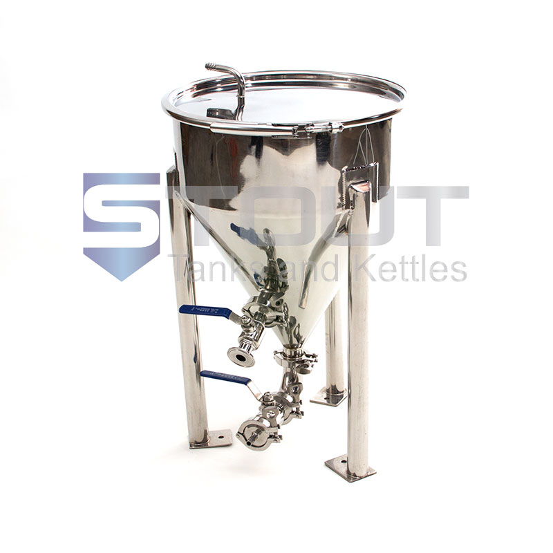 7 Gallon Conical Fermenter (Short-Style) - ONLY 5 LEFT!!