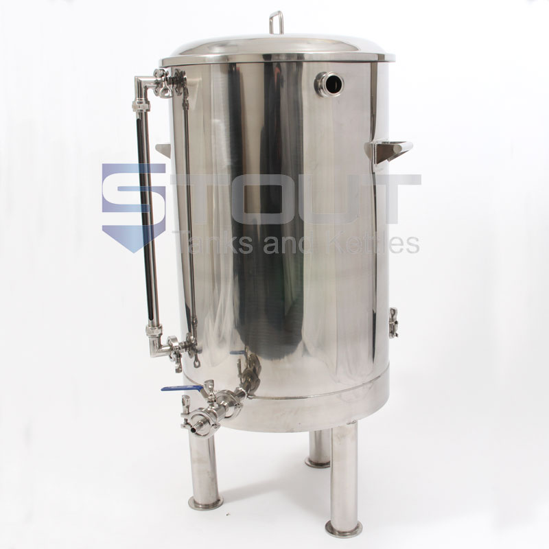 40 Gallon Hot Liquor Tank With Thermowell Sight Glass 2