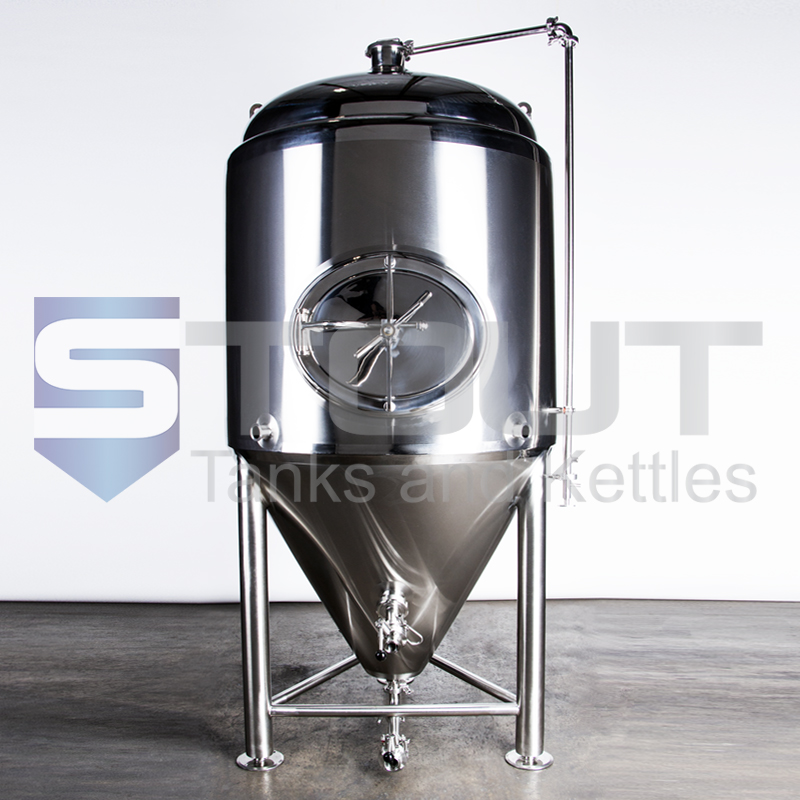 TOP SELLER!! - 5 BBL Conical Fermenter / Unitank  (Jacketed with Side Manway)