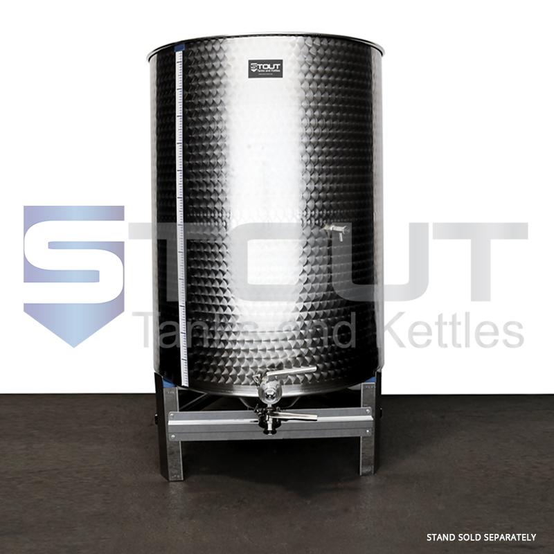500 Liter (132 Gallon) - Variable Capacity Tank (Round Bottom)