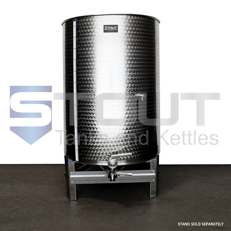 600 Liter (159 Gallon) - Variable Capacity Tank (Round Bottom)