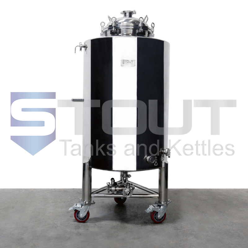 TOP SELLER!! - 3 BBL Brite Tank with Wheels (Non-Jacketed)